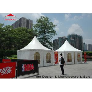China Lightweight 4m Pagoda Pagoda Party Tent Hard Pressed Extruded Aluminum Alloy T6061 / T6 on sale