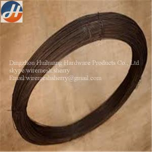 China 8 Gauge Black Annealed Wire High Quality Carbon Used For Industry on sale