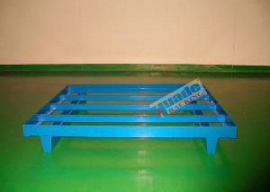 China Welded steel pallet for logistics centers, e shops, plants, distribution centers supplier