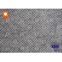 Customized Plastic Style Needle Punched Felt Non Woven Fabric For Dedicated Table Mat