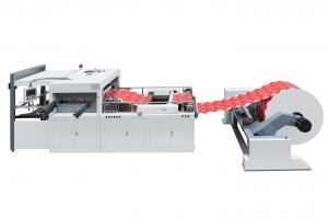 Quality High Speed Automatic Die Cutting Machine FD970 * 640 For Red Paper Packet for sale