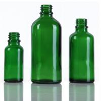 China Printing Green Glass Dropper Bottles , Medical Glass 20ml / 30ml Dropper Bottle on sale