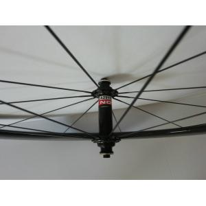 Quality 50mm Carbon Clincher / Tubular Carbon Bike Wheelset 700C of 20 / 24 Holes by EPS Technology for sale
