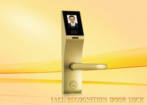 China 3 inch Touch Screen  stainless steel face recognition door lock with mechanical key on sale