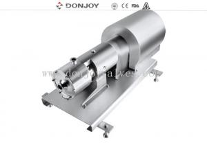 China Multi Stage High Purity Pumps Homogeneous Softening Pump For soymilk and cheese on sale