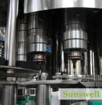Bens de enchimento altos da máquina de enchimento do chá da velocidade para o suco de fruto/chá quentes