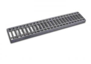 China Storm Water Metal Galvanised Drainage Grates Durable Mild Carbon Steel Flat Bar on sale