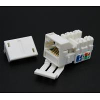 China Network RJ45 Keystone Jack Cat5e Cat6 Information Outlets Pass Fluke Test on sale