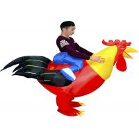 Adult 1.5-1.8m Cock Suit Inflatable Kids Toys Animal Toys Red Chicken Costume