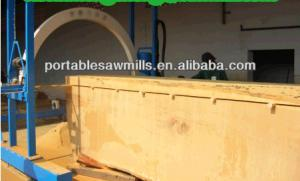 China Large Scale Wood Plank Making Chain Sawmill of large size chain saw mill on sale
