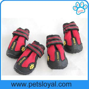 China Breathable Pet Mesh Shoes for Waterproof Dog Boots Reflective Velcro China Factory on sale