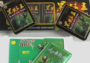 China Natural Male Enhancement Medicine Black Ant King Pills Herbal Sex Capsule on sale