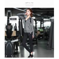 Light Weight Womens Sports Coat , Ladies Sports Coats Long Sleeve Zipper Front