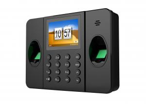 China Biometric Time Attendance Machine , Biometric Fingerprint Attendance With 2.4 Tft Touch Screen on sale