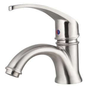 China Polished Finish stainless steel Bathroom Sink Faucet Lavatory Faucet Vessel Mixer Tap on sale