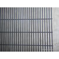 4.0mm Vinyl Coated Wire Mesh Fence 358 security Prison , steel wire mesh