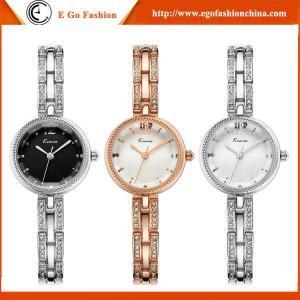 China KM04 Rose Gold Black Silver Wristwatch Quartz Analog Watches Luxury Dress Watch Gift Watch on sale