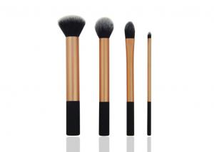 China 4 Piece Natural Hair Travel Makeup Brush Set for Eye Shadow / Eyeliner Makeup on sale