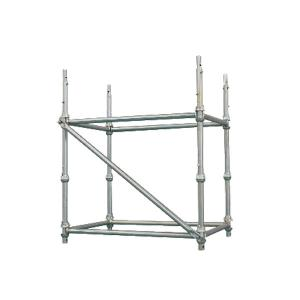China hot sale hot dipped galvanized metal scaffolding Cuplock System used in construction on sale