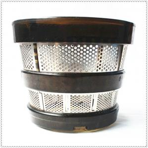 China AISI Wire Cloth Filter , Juicer Stainless Steel Mesh Filter Baskets 304 Food Grade on sale
