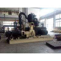 Oil Free High Pressure Piston Air Compressor 40bar With PLC Control
