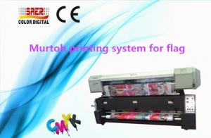 China 1440 DPI Mutoh Large Format Printer With Directly Fabric Printing System on sale