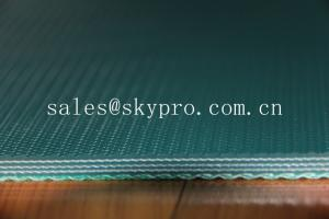 China Industrial PVC conveyor belt belting 7mm for stone / ceramic / marble on sale