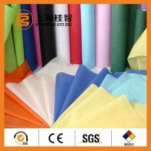 China Colorful Waterproof Spun Bonded Raw Material For Non Woven Fabric , 10gsm-320gsm on sale
