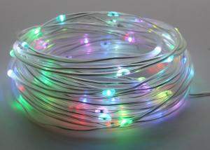 China Commercial Tiny RGB Waterproof LED String Lights Low Voltage Long Life Span on sale