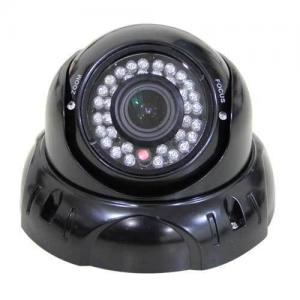 China 35m IR External CCTV Surveillance Dome Infrared Camera With 4 - 9mm Varifocal Zoom Lens on sale