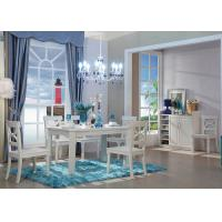China Korea Style  6 Seater Rectangle Dining Table With PVC Veneer on sale