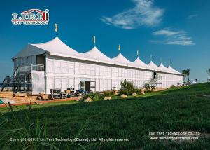 China Waterproof and Stronger 20x50m High Peak Sport Event Tents For High End Horse Event on sale