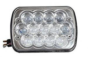 China 7 Inches 5D Led Square Work Light 13 Pieces*5W Cree Chips 5800lm With Die-Cast Aluminum Housing on sale