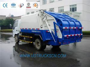 China ISUZU Garbage truck producer on sale