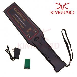 China High Performance Hand Held Metal Detector For Woodworkers ,  Police Handheld Security Scanner on sale