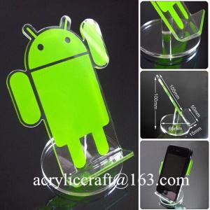 China China Factory Supply popular acrylic display stand for mobile phone / cellphone on sale