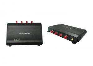 China UHF 4 Port RFID Reader , Long Range RFID Reader Module Baud Rate Adjustable on sale