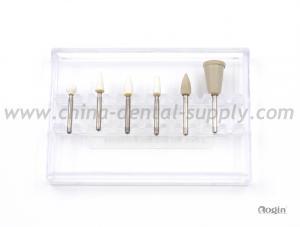 China Abrasive Material Dental Polishing Discs , Dental Silicone Stone Polishers kit on sale
