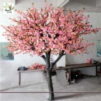 UVG CHR048 10ft Indoor pink cherry tree artificial blossom for office decoration