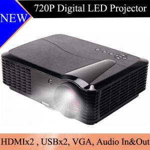 China Home Cinema LED LCD Projector 720P Resolution HDMI USB Beamer Proyector HD Image Projetor on sale