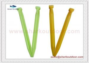 China Campground Environment-friendly Plastic gazebos peg with good price on sale