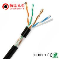 China Outdoor cable 100% Copper FTP Cat5 Lan cable on sale
