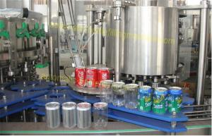 China Carbonated Drink Beverage Can Filling Machine PLC Control For Aluminium Cans on sale