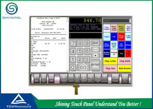 China Large Analog Touch Panel 4 Wire Resistance High Sensitivity 4 / 3 Ratio on sale