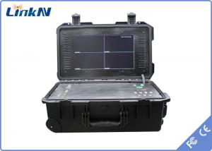 China 4 Channel COFDM Receiver Digital Video Receiver For Emergency Command on sale