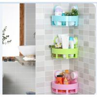 China Wall Mounted Household Storage Racks , ABS Bathroom Kitchen Rack on sale