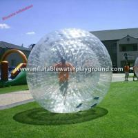 Clear 0.7mm TPU Inflatable Aqua Zorb Ball Inflatable Hamster Balls For Humans