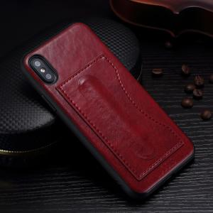 Quality Idools Card Slot Phone Case , Customized Back Cover Support Stand Holder for sale