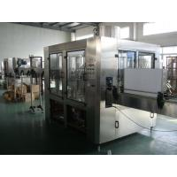 Bottled Automatic Liquid Filling Machine ,  3 in 1 Water Filling Machine