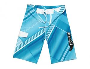 China Fashion Blue and white Print Board Shorts Beach Pants Lovers Couple Models Men Women Girls Boys Ladies Shorts on sale